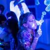 Неоновое Шоу мыльных пузырей