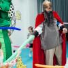 Богатырь и змей Горыныч на 3х летии Федика